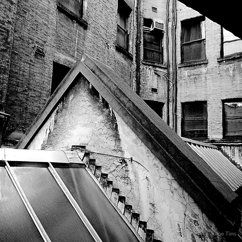 Back of Block Arcade Melbourne by Pauline Tims