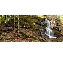 Trout Brook Falls - GigaPan Photographic Print