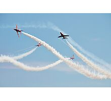 Red Arrows at Airbourne Photographic Print