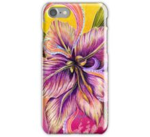 Blue Mood Paisley, I phone case, flower by Alma Lee iPhone Case/Skin