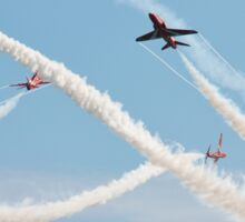 Red Arrows at Airbourne Sticker