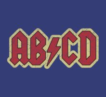 Vintage ABCD Rock & Roll