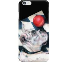 Harlequin Boxer, Captain Tiberius, Iphone case, by Alma Lee iPhone Case/Skin