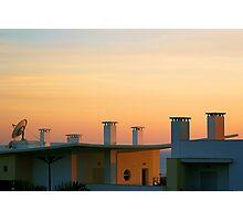 RooftopSunset Photographic Print