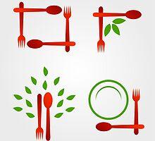 Organic cuisine artwork by Shawlin Mohd
