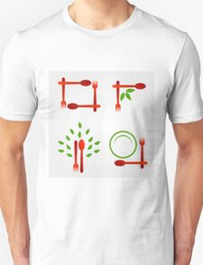 Organic cuisine artwork T-Shirt