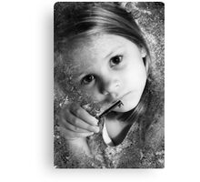 The Key To All Things, As Old As Stone And As Young As A Child Canvas Print