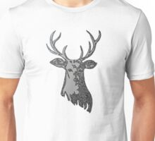 Squiggle Stag Unisex T-Shirt