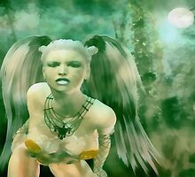The Moonlight Huntress by leapdaybride