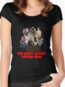 The Rocky Archer Picture Show Women's Fitted Scoop T-Shirt