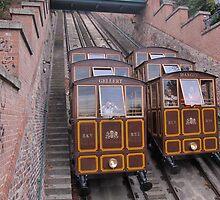 Funicular Railway Budapest by hayleycd19