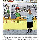 Warm Coffee Holiday by Jenn Inashvili