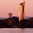 Canberra carillon - iPhone case by Odille Esmonde-Morgan