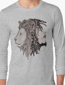 fusion lion  Long Sleeve T-Shirt