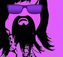 Jerry Garcia (Southpark style) by Scott Mitchell