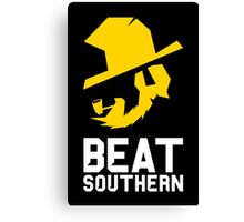 Beat Southern Canvas Print