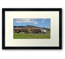 Aprin Transport - Western Star Tasmania Framed Print