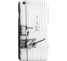Lonesome Guitar iPhone Case/Skin