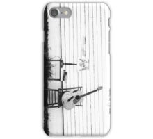 Lonesome Guitar iPhone Case/Skin
