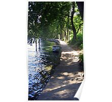 Walking on the Lakeshore Poster