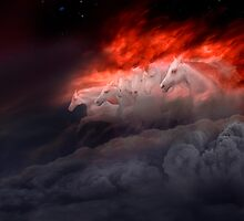 Fiery Gallop by Igor Zenin