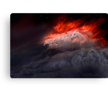 Fiery Gallop Canvas Print