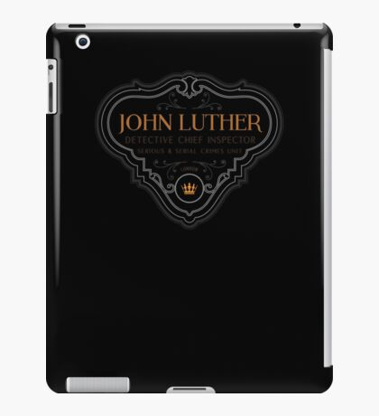 Luther - Badge - Colored Clean iPad Case/Skin
