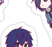 Tokyo Ghoul Chibi Character Stickers - Part 2 Sticker