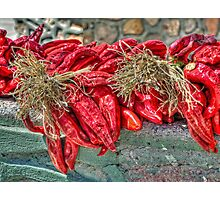 Red Chiles Photographic Print