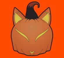 Pumpkin Spice Fox Kids Tee