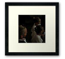 Three Young Highland Dancers Framed Print