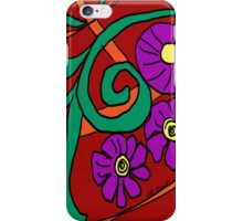 Doodle Sketch iPhone Case by Kate Farrant  iPhone Case/Skin