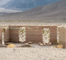 Ashford Mill Building ruins in Death Valley by Martha Sherman