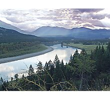 Columbia River At Trail (2) Photographic Print