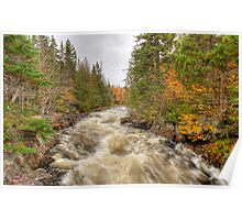 Laurentian Mountains Poster