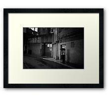 Romance in the Rain - Chinatown - New York City Framed Print