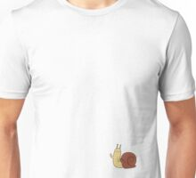 Waving Snail Unisex T-Shirt