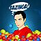 Bazinga iPhone Case by Tom Trager