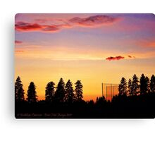 After the Game Canvas Print