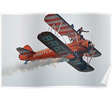Breitling Wing Walkers, Airbourne Poster