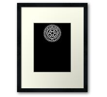 Mortal Kombat - Lin Kuei Dojo - White Dirty Framed Print