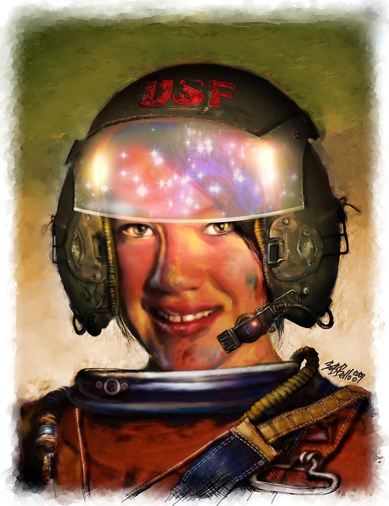 Space Racer by Bob Bello