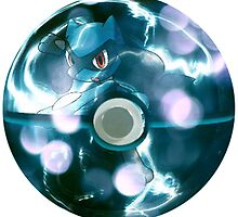 Riolu | Pokeball by SALSAMAN