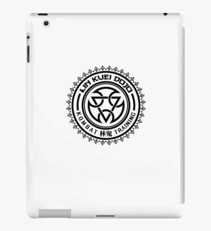 Mortal Kombat - Lin Kuei Dojo - Black Clean iPad Case/Skin