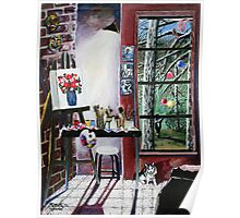 'Casual Observances (View from the Artist's Studio') Poster