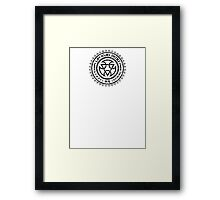 Mortal Kombat - Lin Kuei Dojo - Black Dirty Framed Print