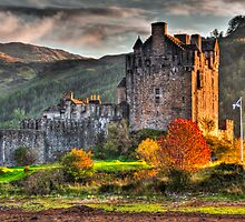 Castle Eilean Donan by Gabor Pozsgai