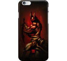 The Horror - ArachnoDemon iPhone Case/Skin