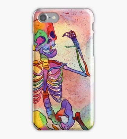 Rainbow Skeleton iPhone Case/Skin