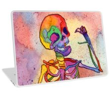 Rainbow Skeleton Laptop Skin